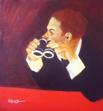Scottish Artist Alan KING - Someone to Watch over Me