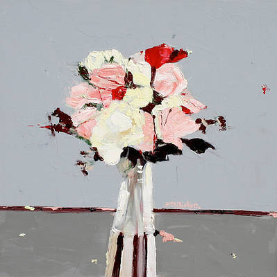 Scottish Artist Alison McWHIRTER - Peace Roses with Superstar