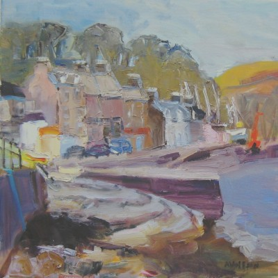Scottish Artist Alma WOLFSON - Port Bannatyne, Bute