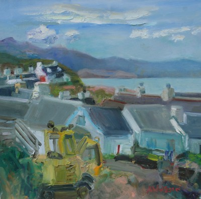 Scottish Artist Alma WOLFSON - Easdale Sound