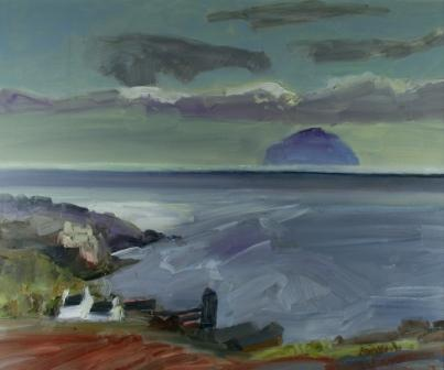 Scottish Artist Alma WOLFSON - Spring Evening, Culzean