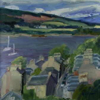 Scottish Artist Alma WOLFSON - Port Banantyne