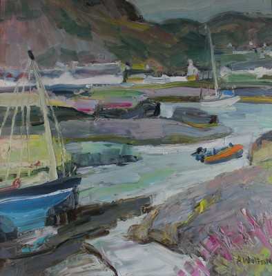 Alma WOLFSON - Low Tide, Easdale Harbour