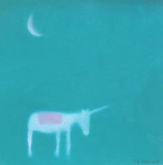 Scottish Artist Andrew SQUIRE - Unicorn