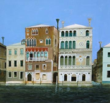 Venice -Morning Light painting by artist Archie Dunbar McINTOSH