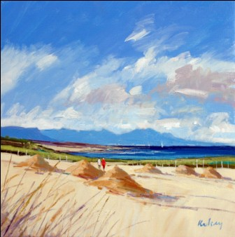 Scottish Artist Robert KELSEY - Coastal Landscape, Morar