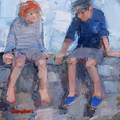 Catriona CAMPBELL - Children on the Wall