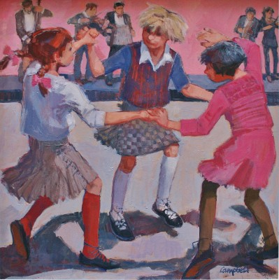 Catriona CAMPBELL - Three Girls at a Ceilidh