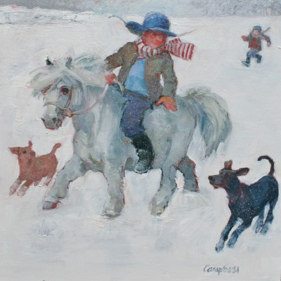 Catriona CAMPBELL - Snow Trotters