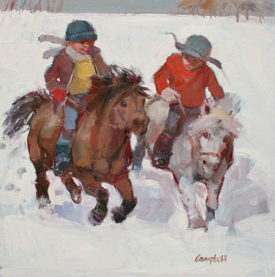 Catriona CAMPBELL - Boys and their Ponies