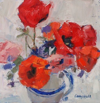 Catriona CAMPBELL - Garden Flowers