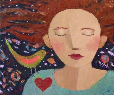 Scottish Artist Catriona MILLAR - Gwendoline Dreaming