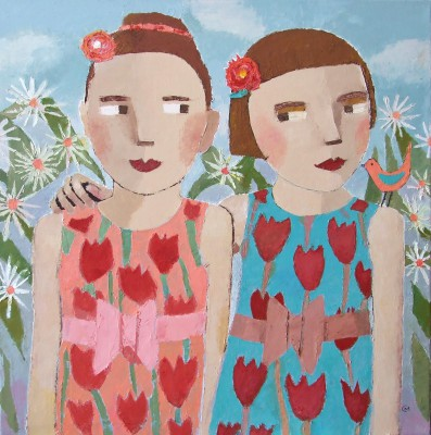 Scottish Artist Catriona MILLAR - Sophie�s Friend