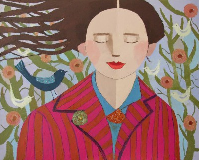 Scottish Artist Catriona MILLAR - Little Wing Dreams