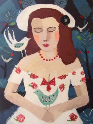 Scottish Artist Catriona MILLAR - Belle