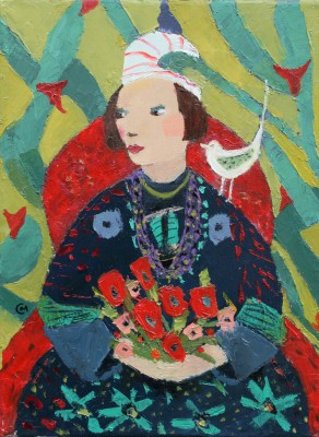Scottish Artist Catriona MILLAR - Rosa