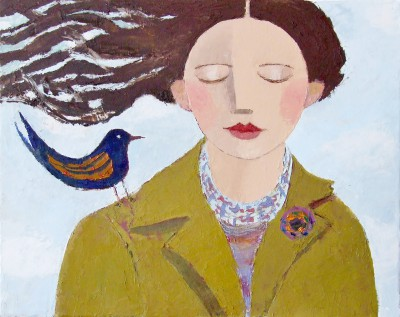 Scottish Artist Catriona MILLAR - Autumn Wing
