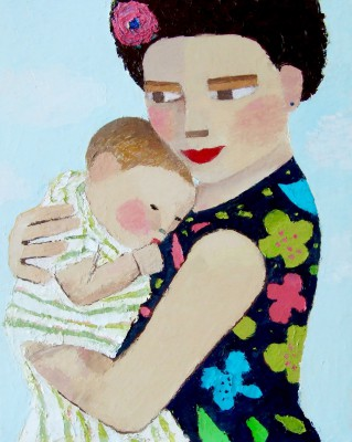 Scottish Artist Catriona MILLAR - Babette