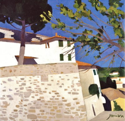 Fiesole, Italy painting by artist Charles JAMIESON