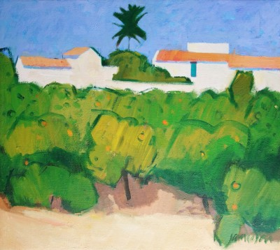 Scottish Artist Charles JAMIESON - Fruit Farm, Algrave