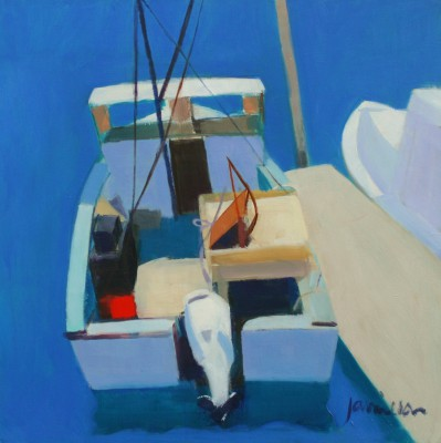 Scottish Artist Charles JAMIESON - Fishing Boat, Cape Cod