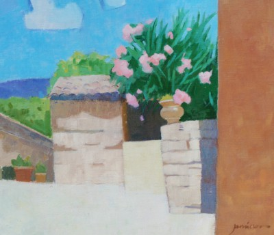 Charles JAMIESON - Courtyard, Olargues