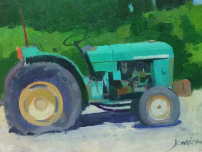 Scottish Artist Charles JAMIESON - French Tractor