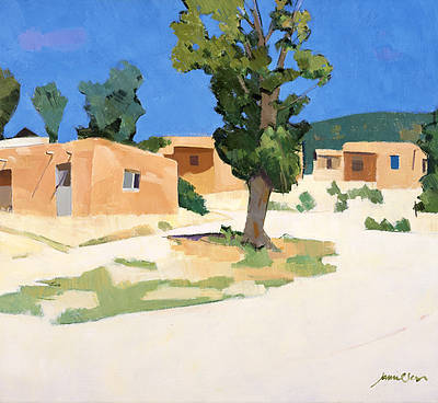 Scottish Artist Charles JAMIESON - Picuris Pueblo