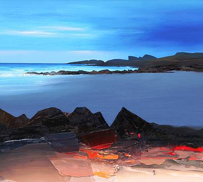 Scottish Artist Chris BUSHE - Blue Evening, Saligo Bay