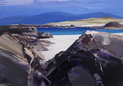 Scottish Artist Chris BUSHE - Hot Afternoon, North Beach, Iona