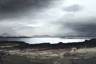 Scottish Artist Chris BUSHE - Silver Light, Oronsay