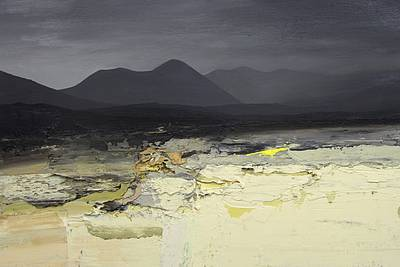 Scottish Artist Chris BUSHE - Winter Glow, Glen Etive