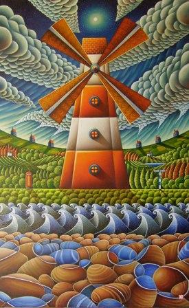 Home interiors and gifts paintings - Surrealism Scottish Art And Paintings By Scottish Artists Red Rag