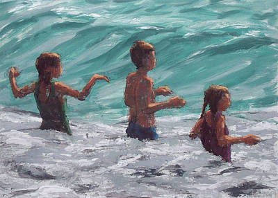 Damian CALLAN - Three Children and a Bigger Wave