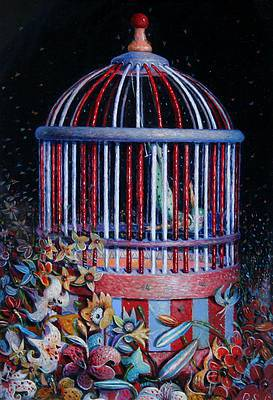 Scottish Artist David SCHOFIELD - The Circus Garden