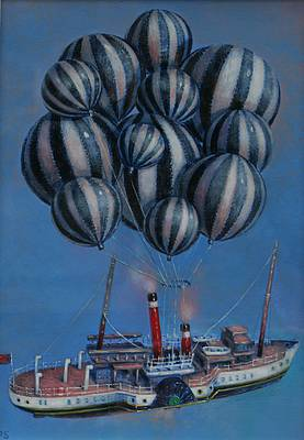 Scottish Artist David SCHOFIELD - 12 Balloons