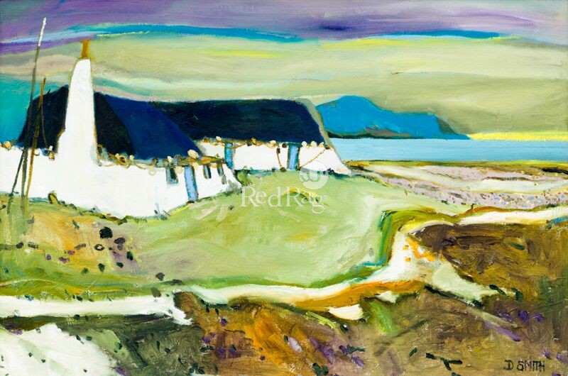 David SMITH - Back Houses Berneray