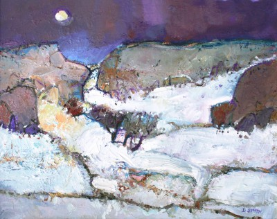 David SMITH - Evening Snow, Kilpatrick Hills