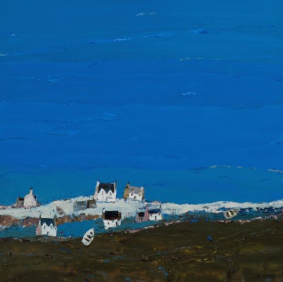 Scottish Artist David SMITH - Flodabay, Harris