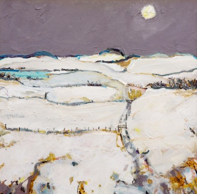 Scottish Artist David SMITH - Kilpatrick Hills in Winter