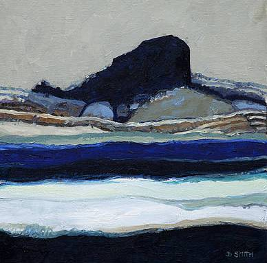 Scottish Artist David SMITH - Sgurr of Eigg