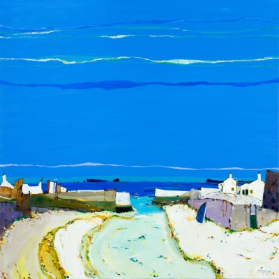 Scottish Artist David SMITH - Shiants from the Hebrides