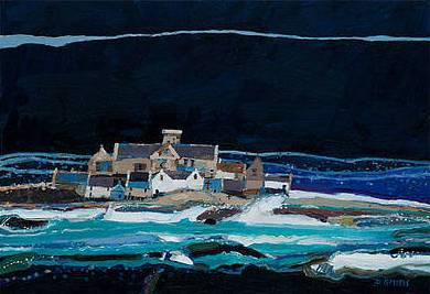 Scottish Artist David SMITH - Sound of Iona