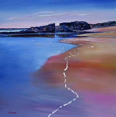 Tide Mark, Islay painting by artist Davy BROWN