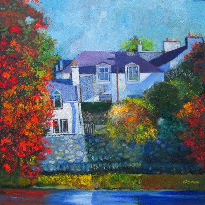 Davy BROWN - Autumn Colours, Creebridge