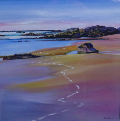 Scottish Artist Davy BROWN - Tide Mark
