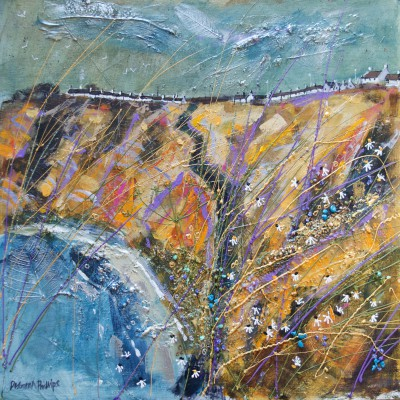 Scottish Artist Deborah PHILLIPS - Catterline Autumn