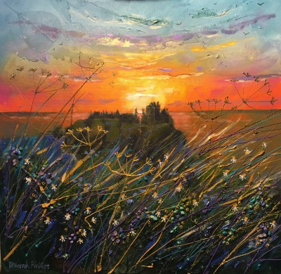 Scottish Artist Deborah PHILLIPS - Dunottar Daybreak