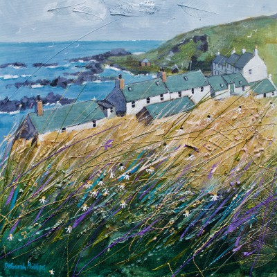 Scottish Artist Deborah PHILLIPS - Sunny Eithie Haven