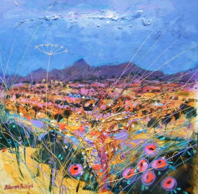 Deborah PHILLIPS - Bathed in Evening Sun